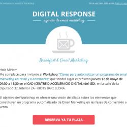CTA evento Digital Response