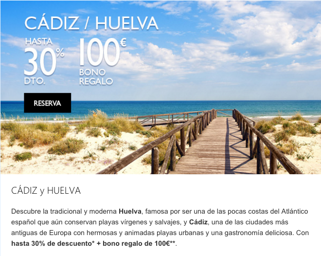 Email Marketing promociones Hoteles Melià