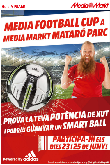Emailing MediaMarkt - moment marketing
