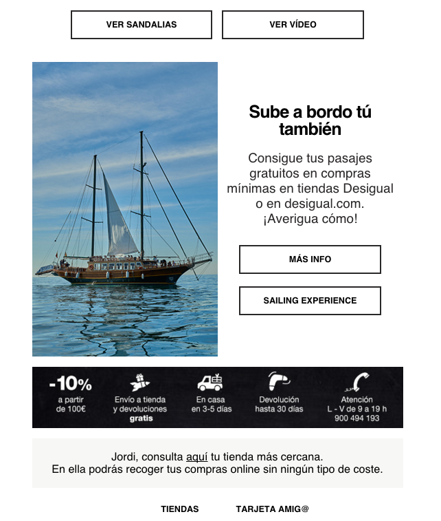 Atypical Places Desigual Email Marketing 5