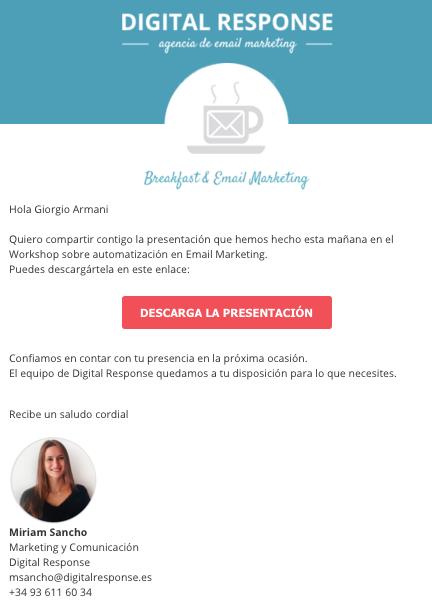 Moment Email Marketing Workshop Digital Response
