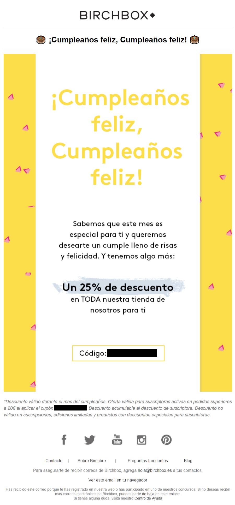 6 ideas para hacer un email de cumpleaños Servicios de Email Marketing Agencia de Email Marketing