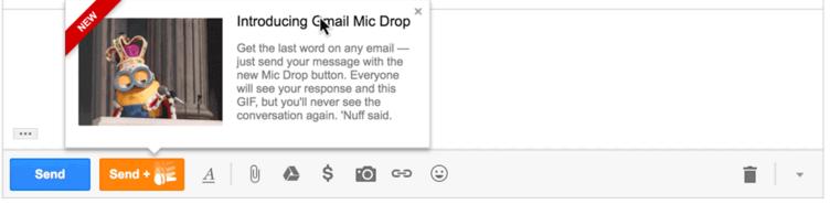 Ejemplo Mic Drop