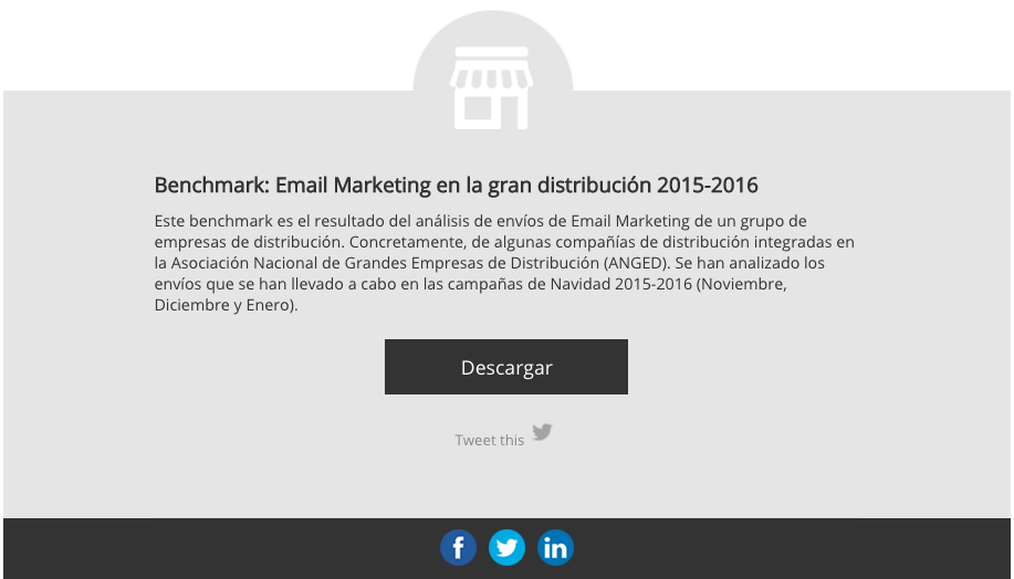 Call to action en email marketing Lead Nurturing Digital Response