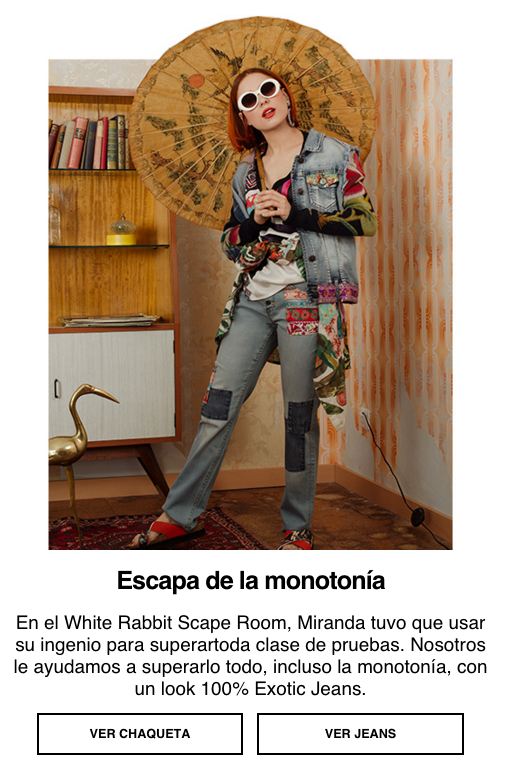 Atypical Places Desigual Email Marketing 3