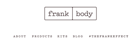 FrankBody Email Marketing 1